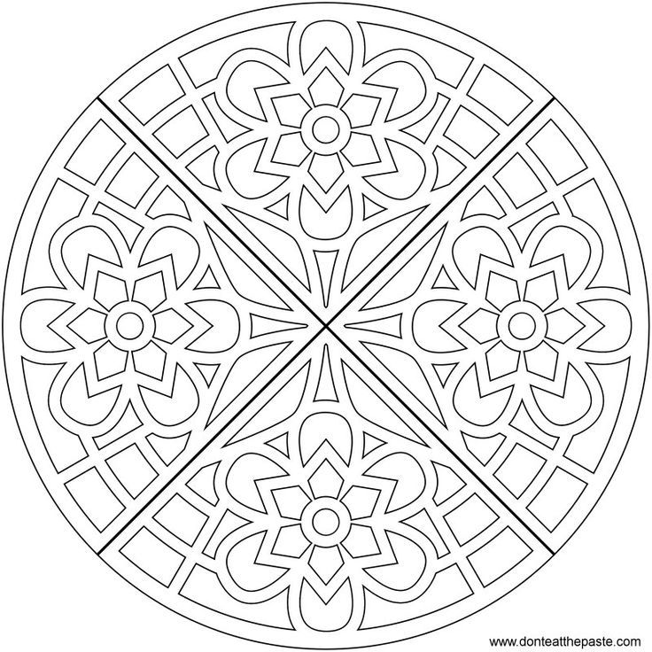 mandala coloring pages of sunday - photo#12