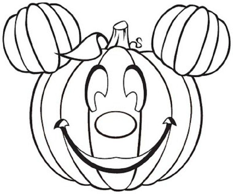 pumpkin coloring pages faces - photo#13
