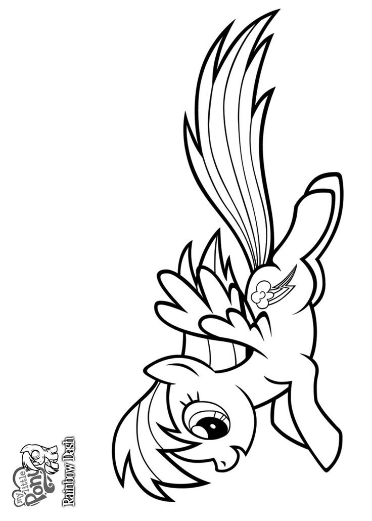 rainbow dash coloring page  az coloring pages, printable coloring