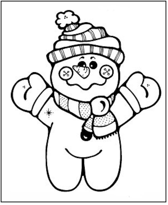Winter Coloring Pages 120 | Free Printable Coloring Pages