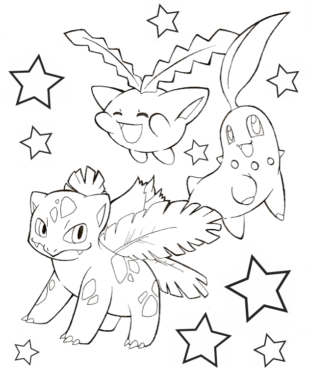 sinnoh pokemon coloring pages - photo#4