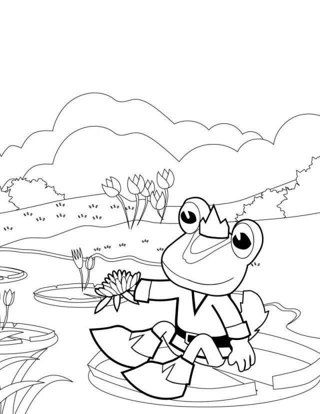 Pond Printables Free Coloring Pages Adult Coloring Pages Pond Coloring Page
