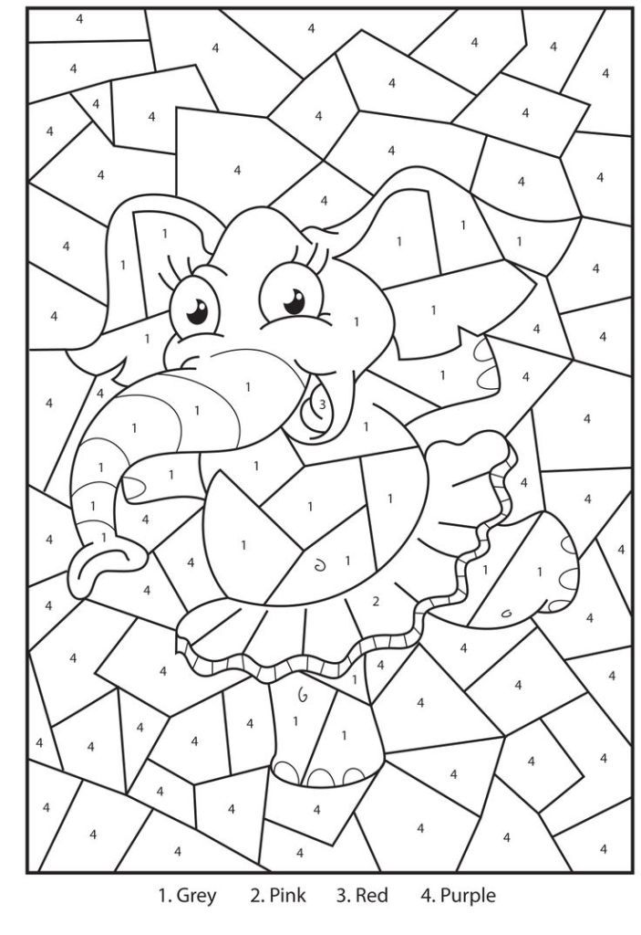 Addition coloring sheets free free printable color by for Math coloring pages printable
