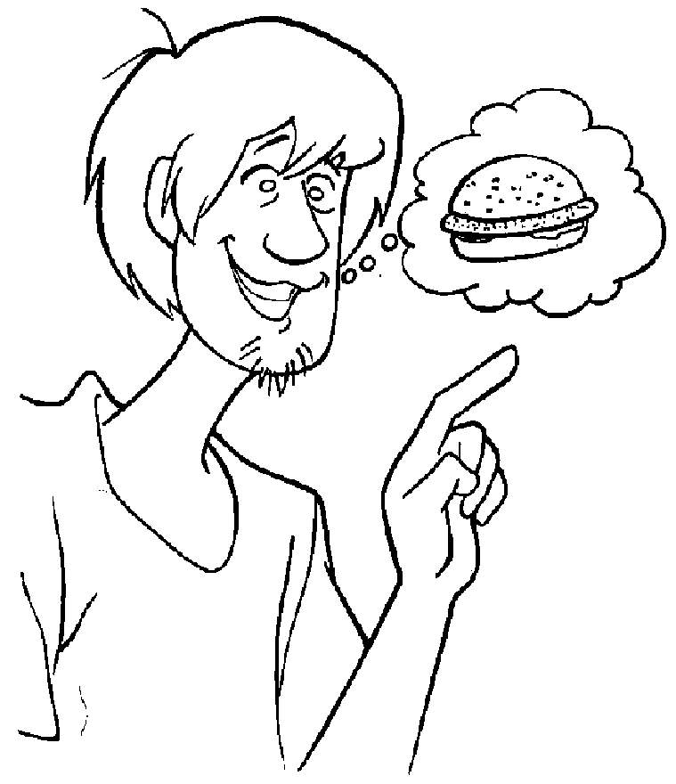 scooby doo coloring pages online free - scooby doo characters coloring pages az coloring pages