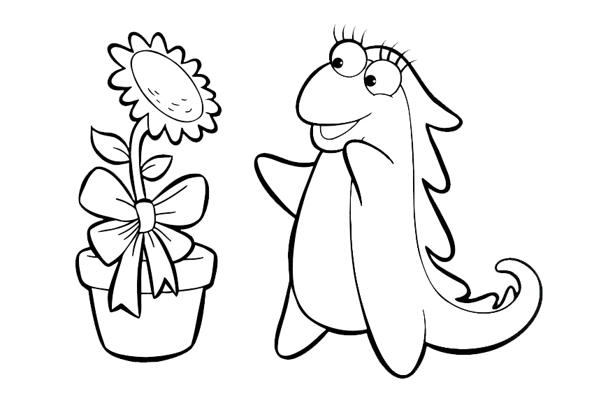 swiper the fox coloring pages - photo#21