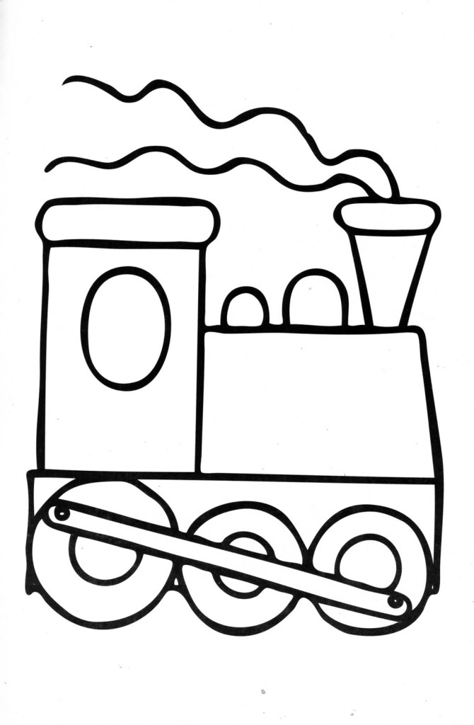 train caboose coloring pages printable - photo#21