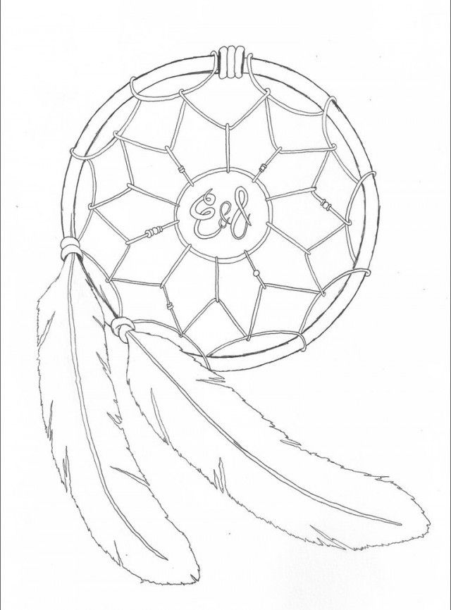 Dreamcatcher By Jrhyme Drawing And Coloring For Kids 256747