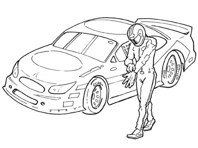 nascar coloring pages printable hd printable coloring pages