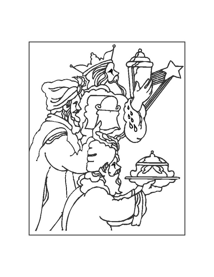 epiphany coloring pages free - photo#25