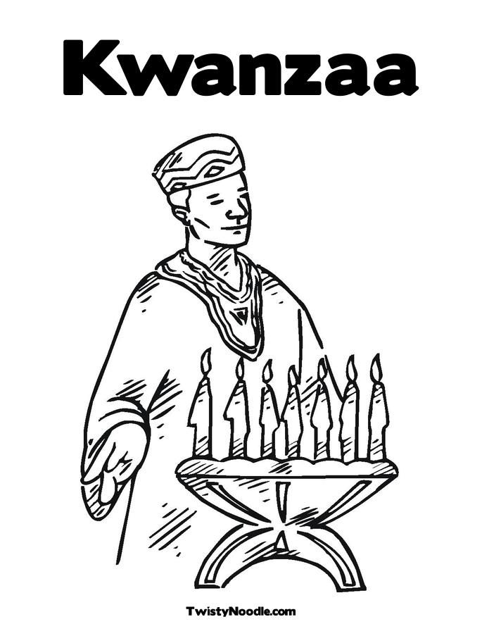 Kwanzaa Coloring Pages Kids - Coloring Home