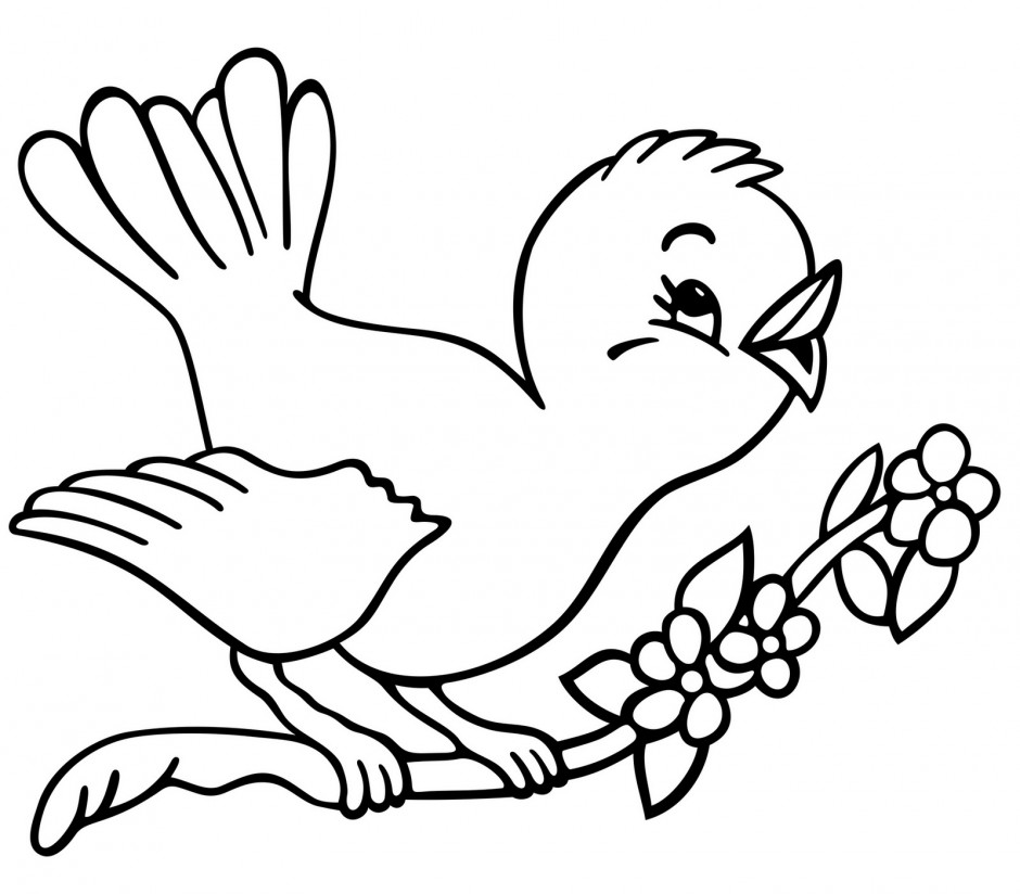 Animal Coloring Pages Simple : Simple Animal Pictures AZ Coloring Pages