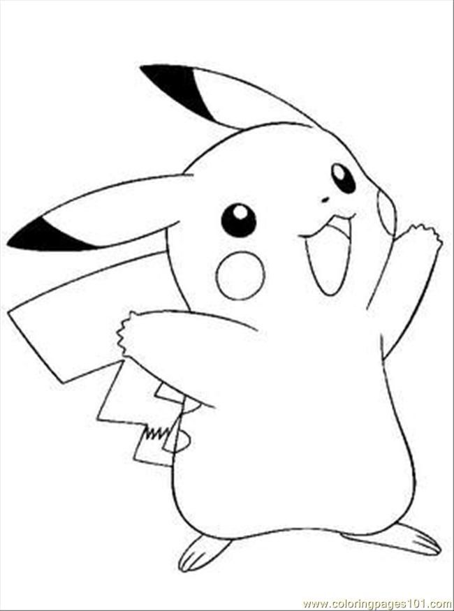 free coloring pokemon pages - photo#13