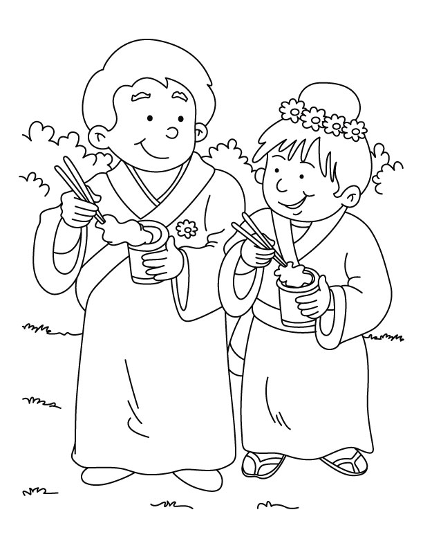 coloring pages china theme party - photo#4