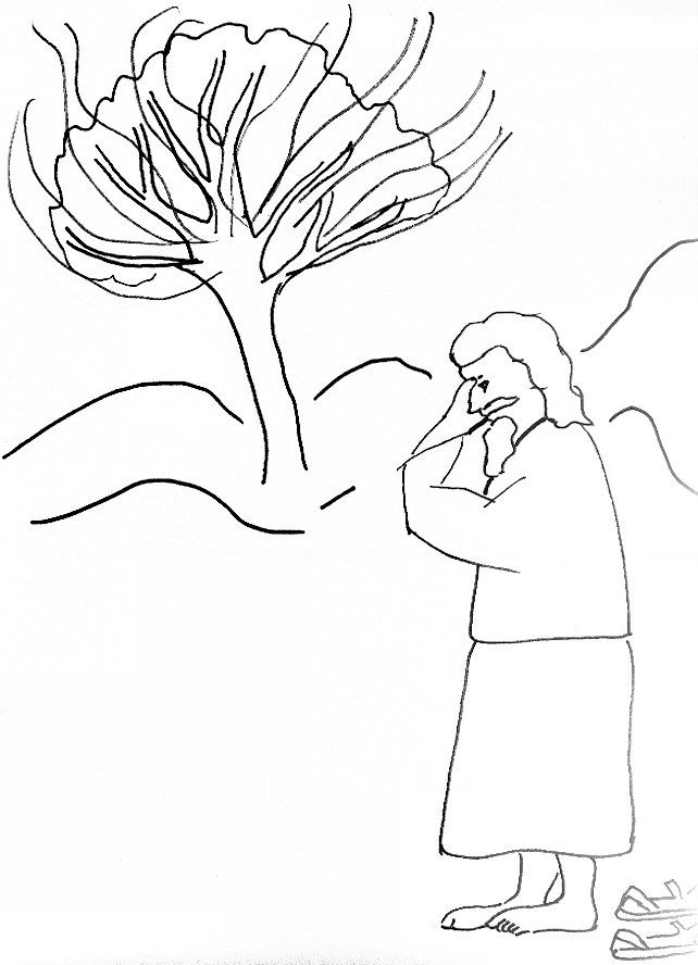 Jesus Bible Story Coloring Pages