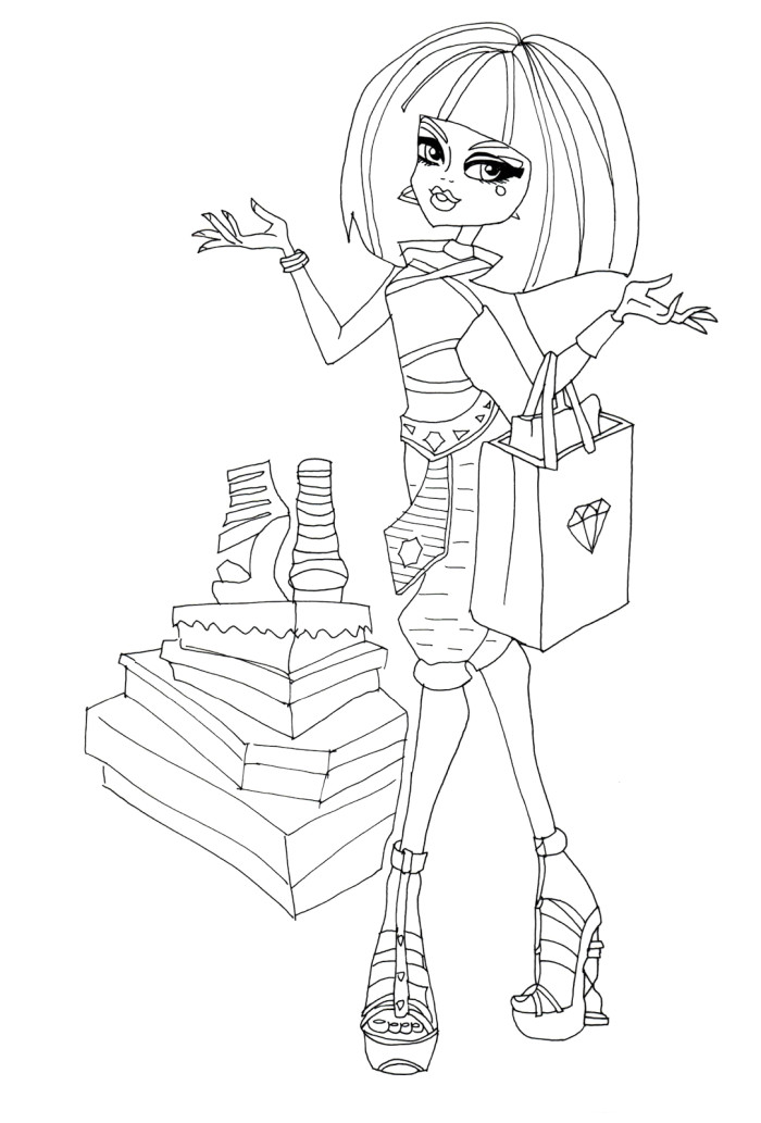 cleo de nile coloring pages - photo#23