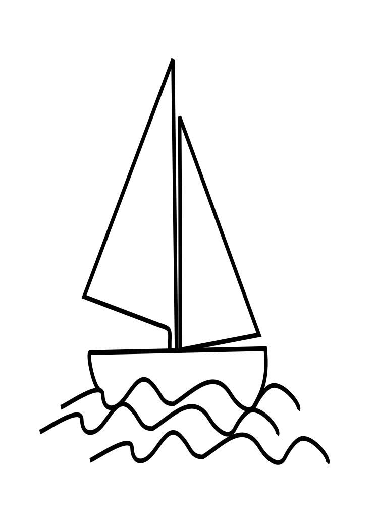 Boat Coloring Page ~ Child Coloring