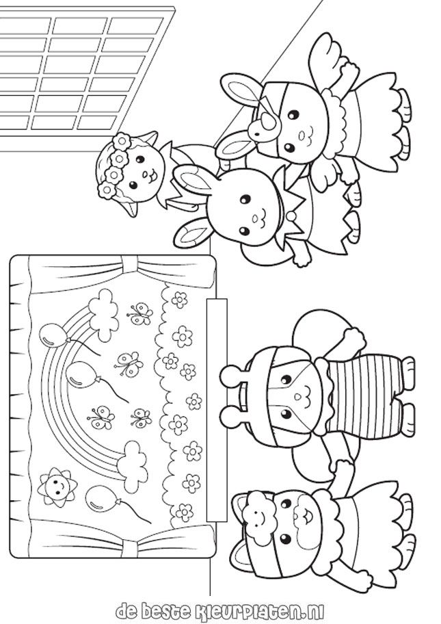 search results  u00bb calico critters coloring pages
