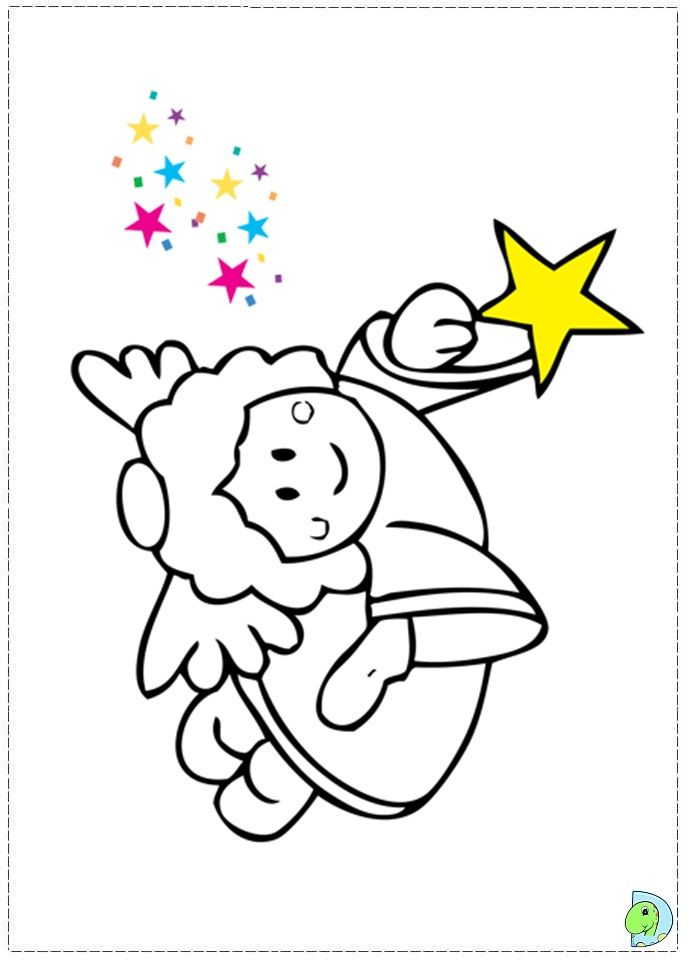Angel Coloring Pages Pdf : Angel coloring page christmas colouring