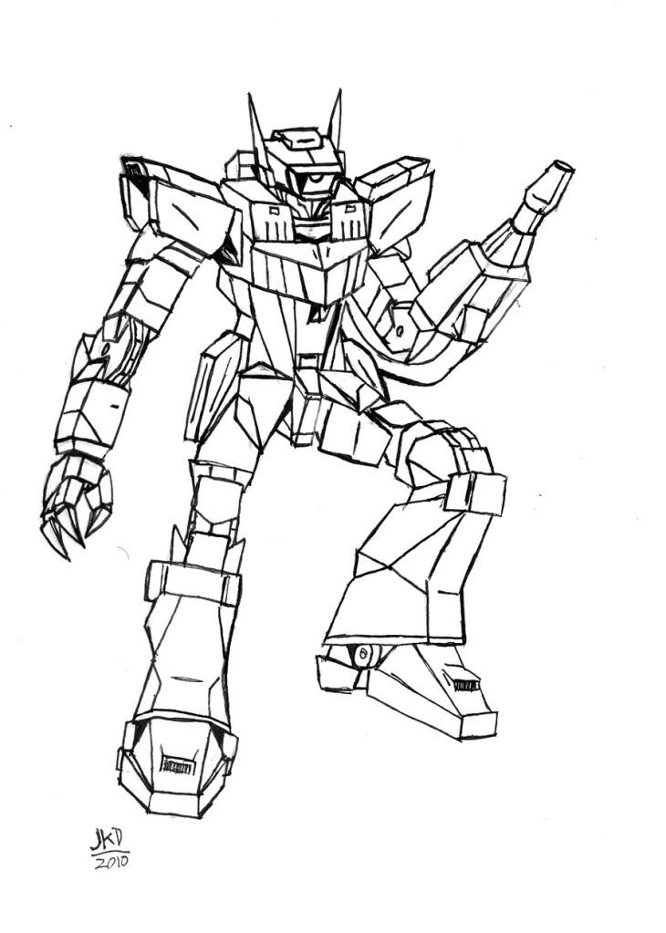transformers free coloring pages clampdown - photo#21