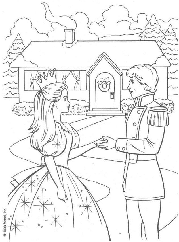 barbie coloring pages full size - photo#10