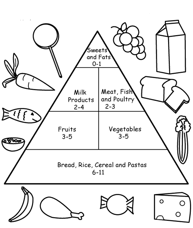 Pyramid Coloring Pages Coloring Home