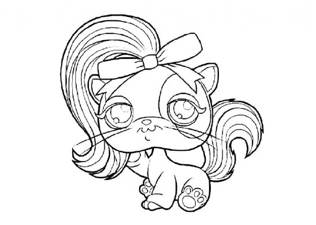 Littlest pet shop free coloring pages