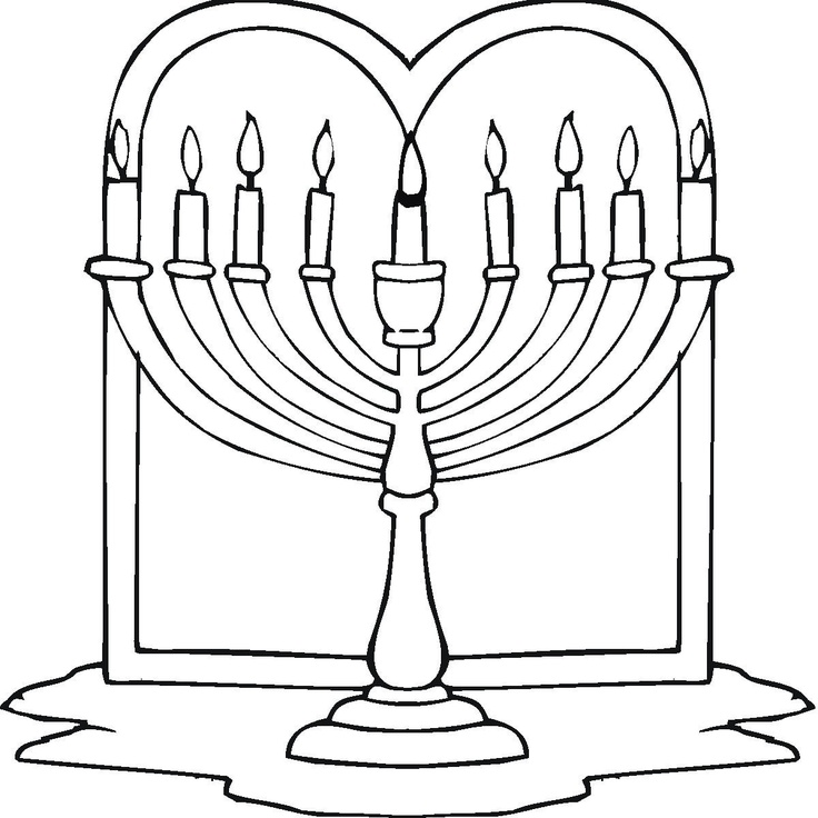 Jewish Holiday Coloring Pages