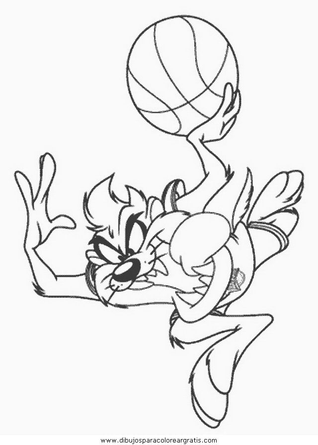 Tiny toons looney Colouring Pages
