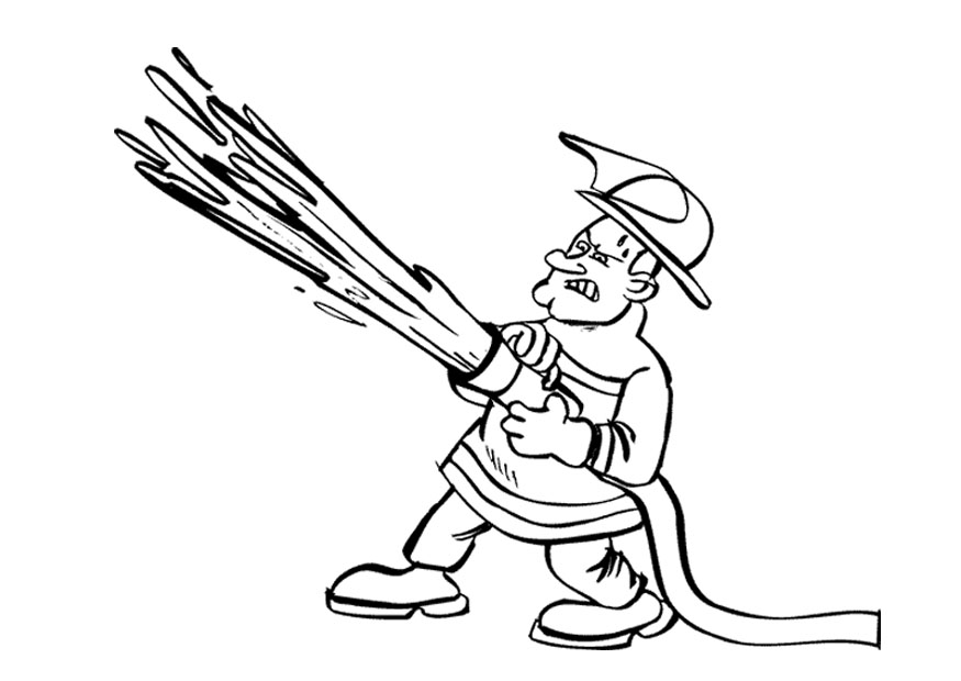 sparky fire dog coloring pages - photo#22