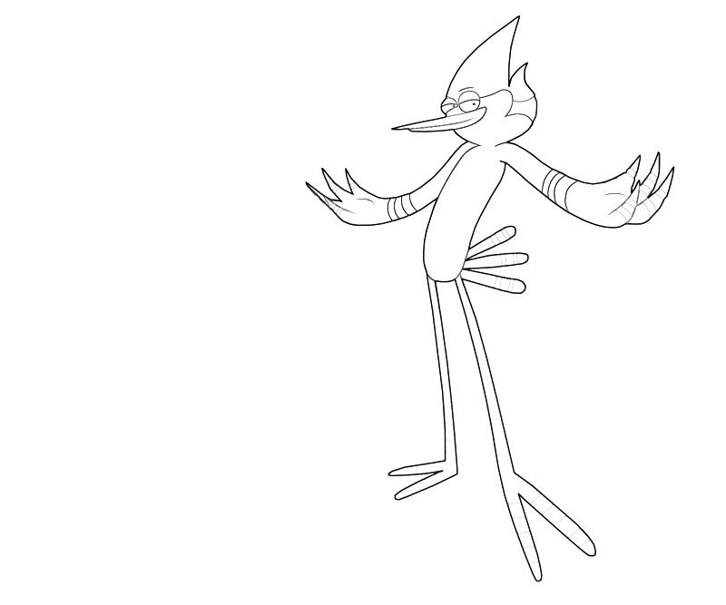 Regular show coloring pages az coloring pages for Regular show coloring pages to print