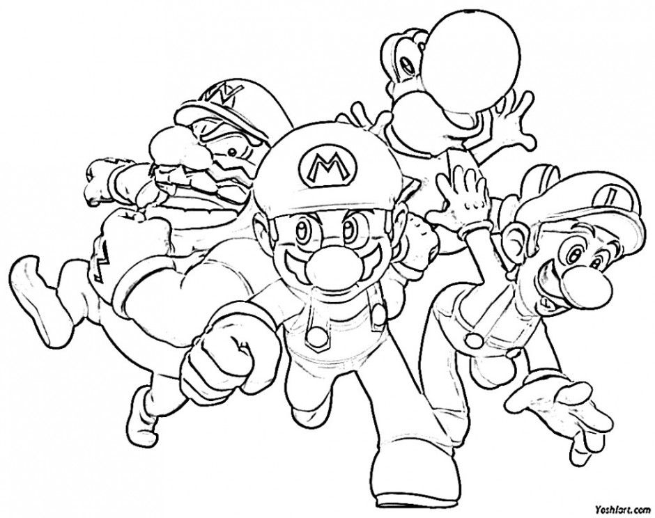 It's just a photo of Resource Mario And Sonic Coloring Pages