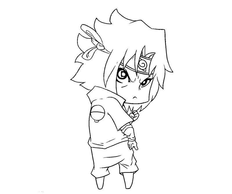 Sasuke Coloring Pages Coloring