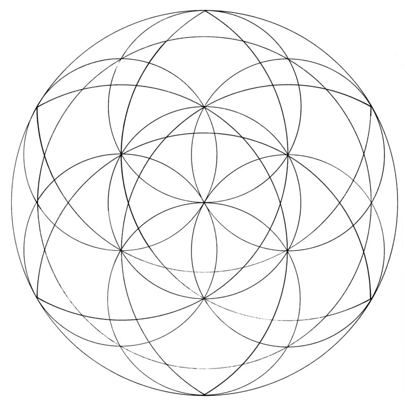 sacred geometry coloring pages - photo #25