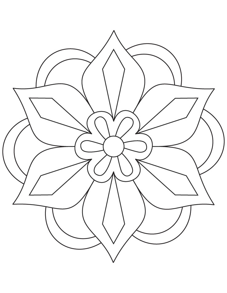 Colouring In Simple Patterns : Patterns Coloring Pages AZ Coloring Pages