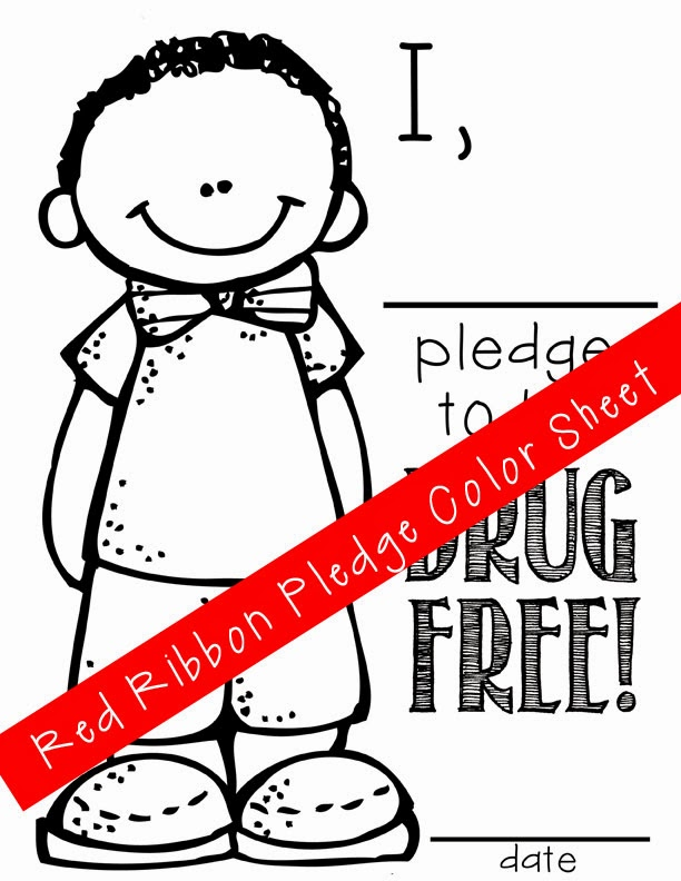 Just Say No To Drugs Coloring Pages - Coloring Home