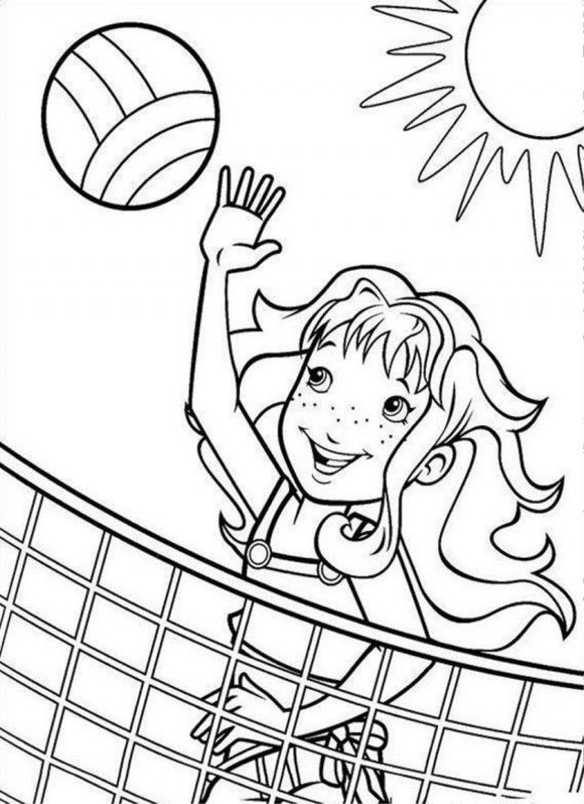 Holly Volly Hobbie Coloring Page Coloringplus 192057 Holly Hobbie
