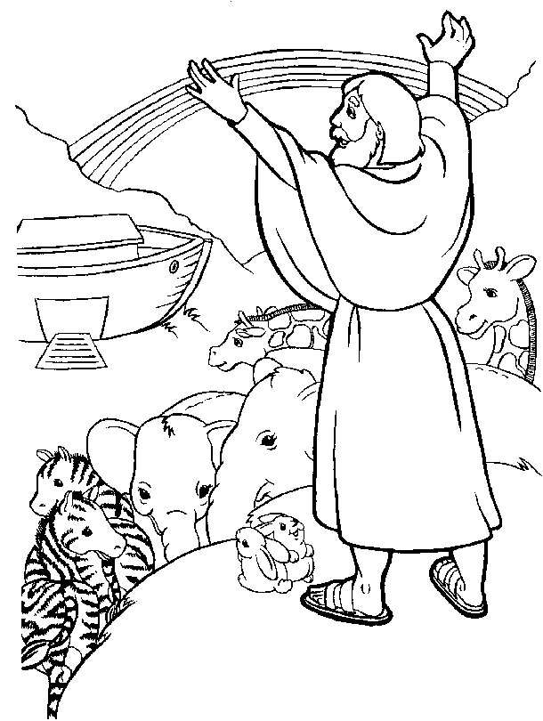 Noah and the ark coloring pages az coloring pages for Noah ark coloring page