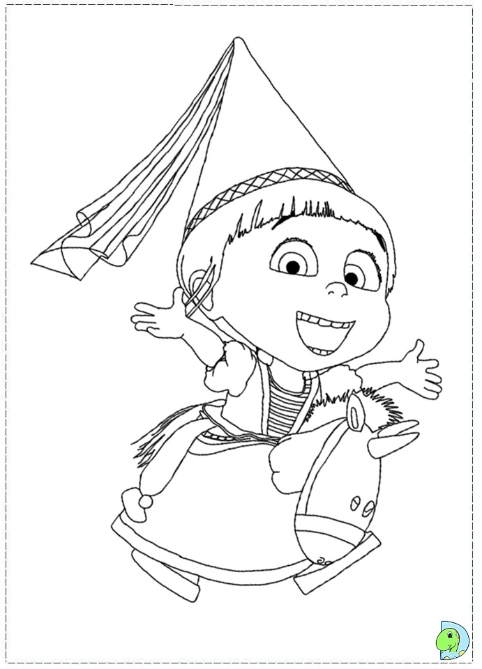 Lucy Despicable Me 2 Coloring Pages | www.imgkid.com - The ...