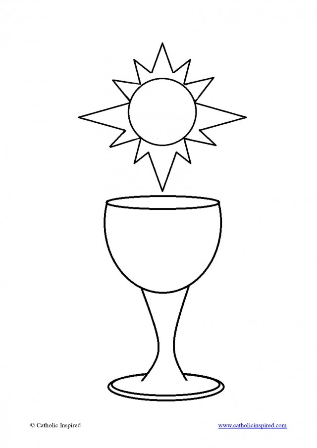 communion coloring pages - photo#26