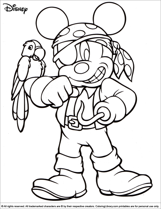 disney coloring pages halloween - photo#26