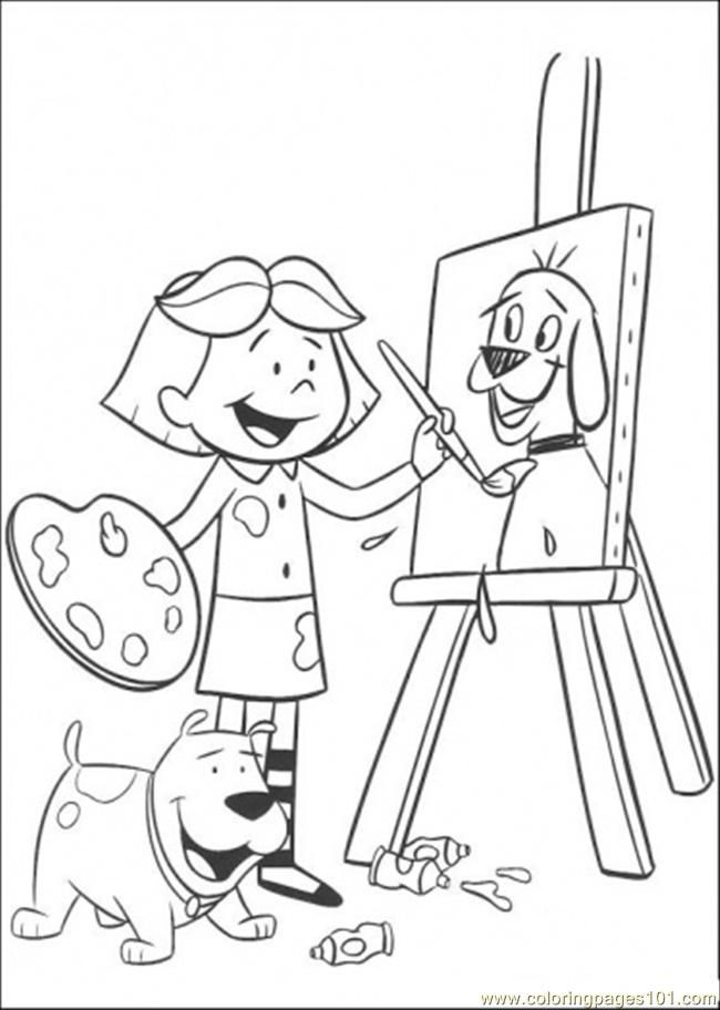 Painting Pages - AZ Coloring Pages