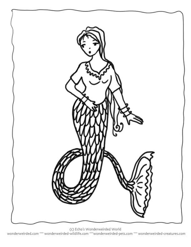 Little Mermaid Coloring Pages Book Free Mermaid Coloring