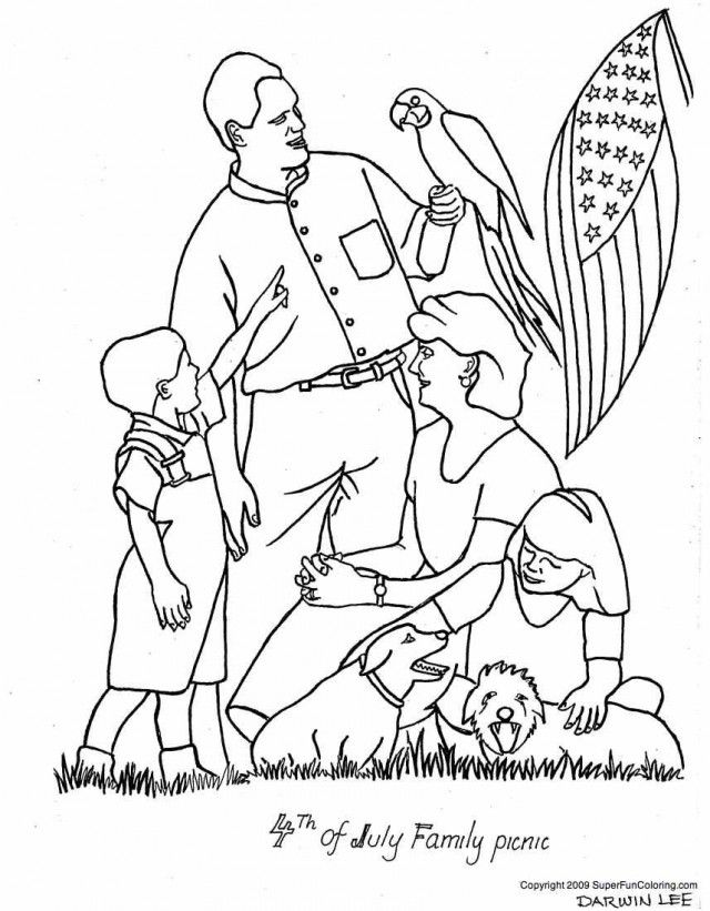 4th Of July Coloring Pages Pdf : Th of july coloring pages free online books