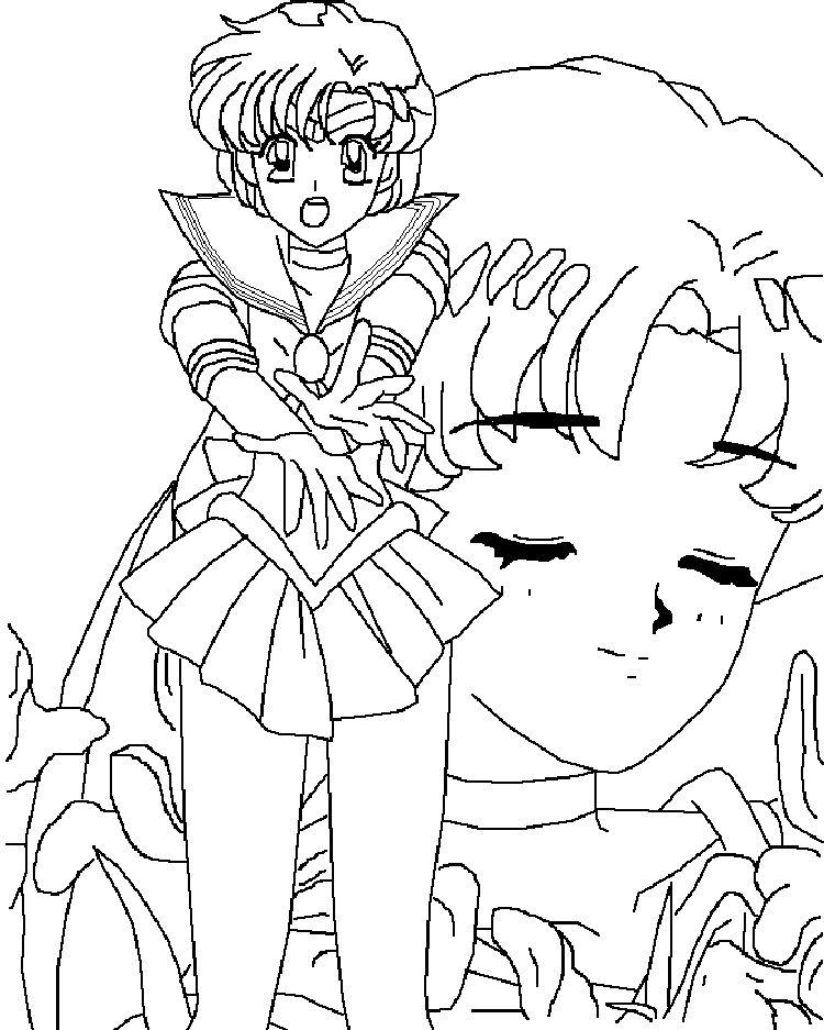 Sailor Mercury Coloring Pages Az Coloring Pages Sailor Mercury Coloring Pages