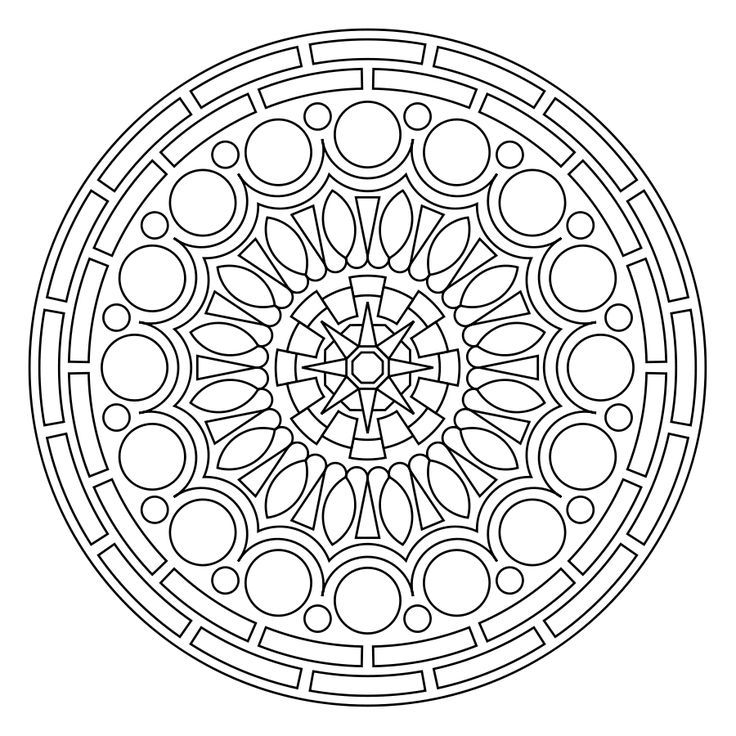 It is an image of Lucrative Printable Mandalas Pdf