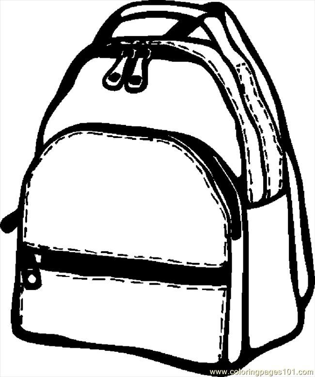 Back School Coloring Pages Coloring Home