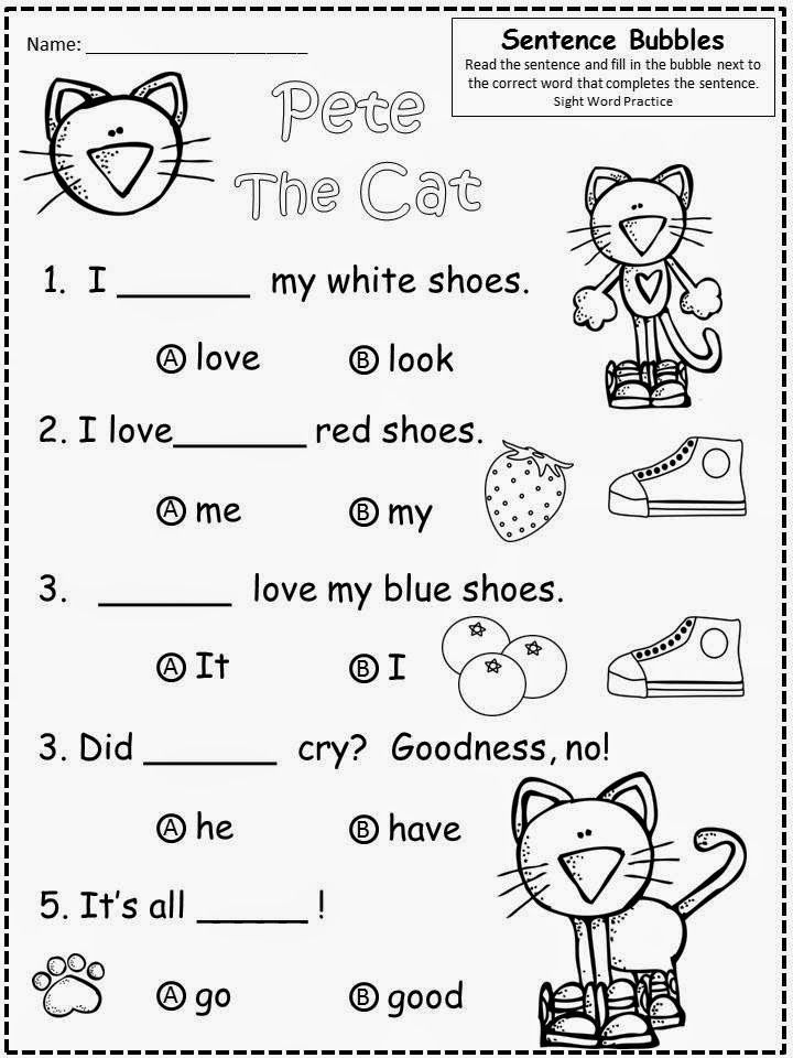 Image Result For Pete Cat Coloring Page Pete