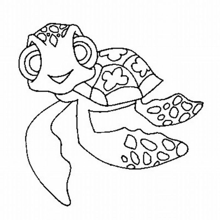 mommy turtle coloring pages - photo#5
