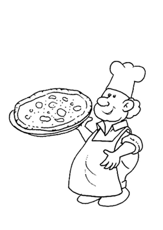 amazing Pizza coloring pages for kids | Great Coloring Pages