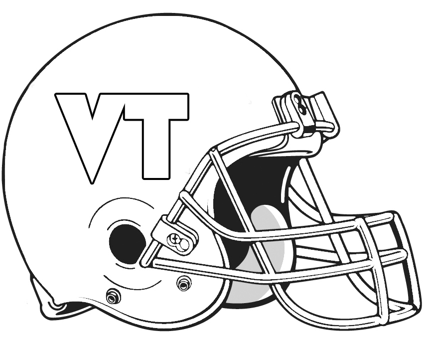 colts football helmet coloring pages - photo#9